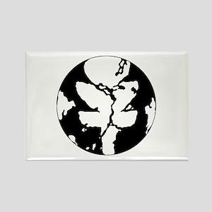 Black/White Discgaea Rectangle Magnet