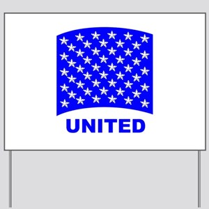 50_stars_united Yard Sign