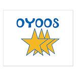 OYOOS Stars design Small Poster