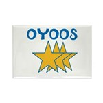OYOOS Stars design Rectangle Magnet (100 pack)