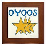 OYOOS Stars design Framed Tile