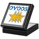 OYOOS Stars design Keepsake Box