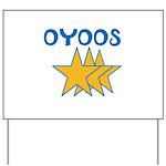 OYOOS Stars design Yard Sign
