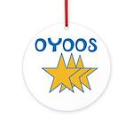 OYOOS Stars design Ornament (Round)
