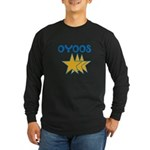 OYOOS Stars design Long Sleeve Dark T-Shirt