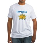 OYOOS Stars design Fitted T-Shirt