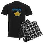 OYOOS Stars design Men's Dark Pajamas