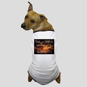 Hell in a Handbasket Dog T-Shirt
