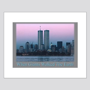 WTC Giants Small Poster