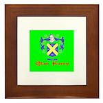 Clan Furey Framed Tile