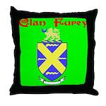 Clan Furey Throw Pillow