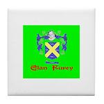 Clan Furey Tile Coaster