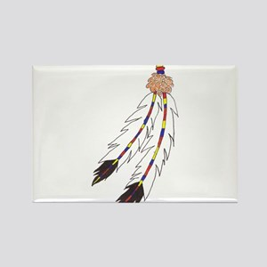 Feather Rectangle Magnet