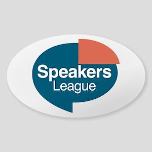 Speakers League Logo color Sticker