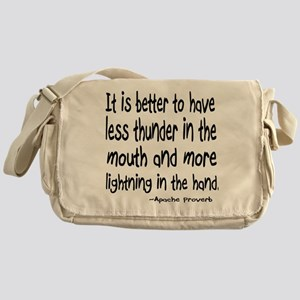 Thunder in the Mouth Messenger Bag