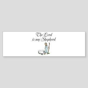 The Lord is my Shepherd Sticker (Bumper)