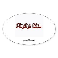 Pinche Rio Poker Oval Decal