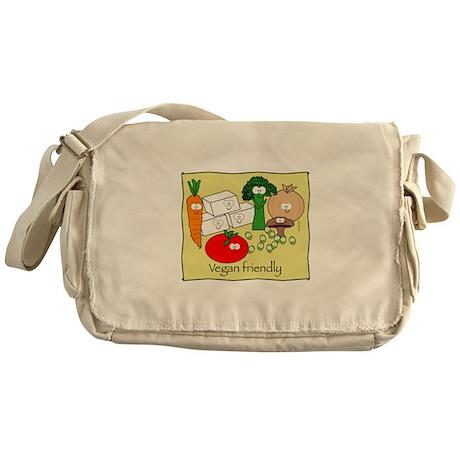 Vegan Friendly Messenger Bag