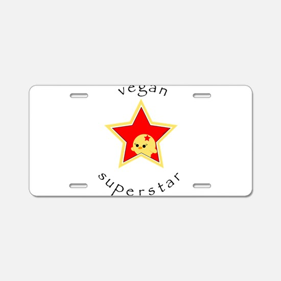 Unique Tofu Aluminum License Plate