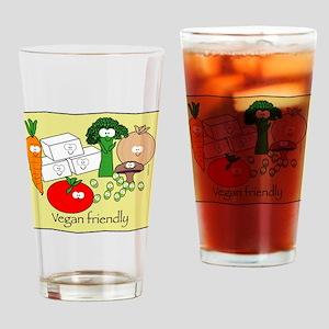 Vegan Friendly Drinking Glass