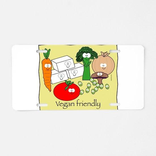 Vegan Friendly Aluminum License Plate