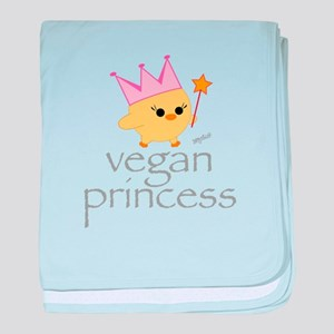 Vegan Princess baby blanket