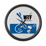 WTF - Why The Foley 01 Large Wall Clock