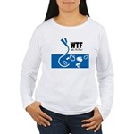 WTF - Why The Foley 01 Women's Long Sleeve T-Shirt