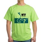 WTF - Why The Foley 01 Green T-Shirt