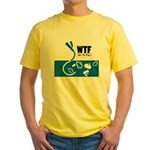 WTF - Why The Foley 01 Yellow T-Shirt