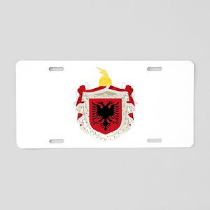Albanian Kingdom Coat of Arms Aluminum License Pla