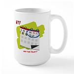 WTF - Why The Foley 02 Large Mug