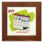 WTF - Why The Foley 02 Framed Tile