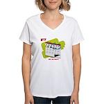 WTF - Why The Foley 02 Women's V-Neck T-Shirt