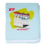 WTF - Why The Foley 02 baby blanket
