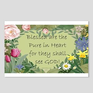 Purity Garden Postcards (Package of 8)