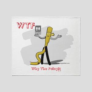 WTF - Why The Foley 03 Throw Blanket