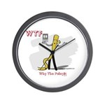 WTF - Why The Foley 03 Wall Clock