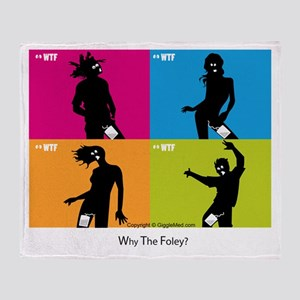 WTF - Why The Foley 04 Throw Blanket