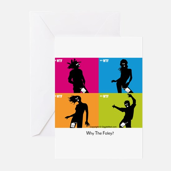 WTF - Why The Foley 04 Greeting Cards (Pk of 10)