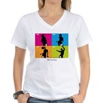 WTF - Why The Foley 04 Women's V-Neck T-Shirt