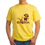 Back to School Yellow T-Shirt