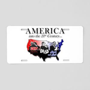 21st Century America Aluminum License Plate