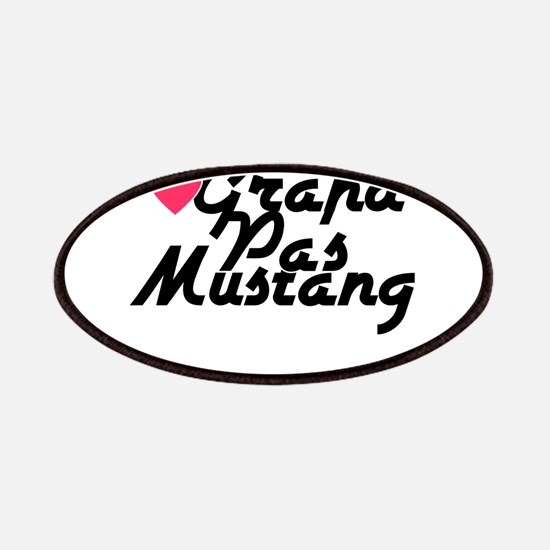 Grand Pas Mustang Patches