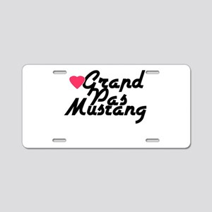 Grand Pas Mustang Aluminum License Plate
