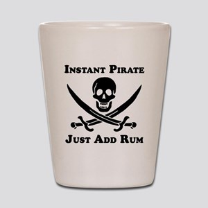 Classic Instant Pirate Shot Glass