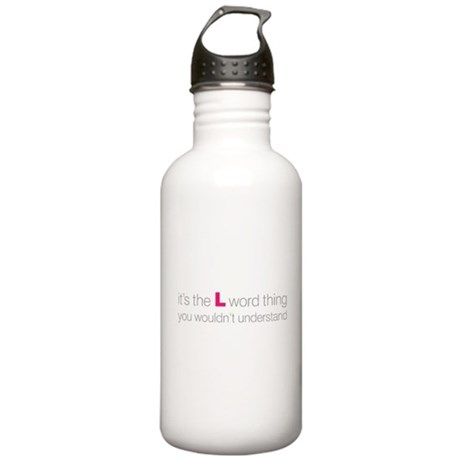 L Word Thing Stainless Water Bottle 1.0L