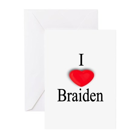 Braiden Greeting Cards (Pk of 10)