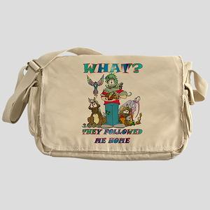 Too Many Pets ? Messenger Bag