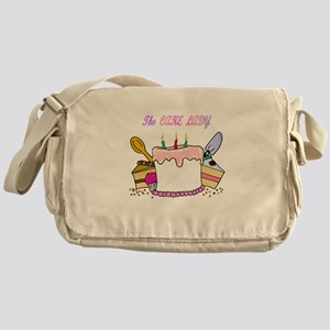The Cake lady Messenger Bag